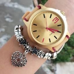 Relógios + Pulseira 30 reais