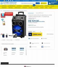 Caixa de som Bluetooth Philco foto ilustrativa