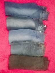Lote calças Tam.40