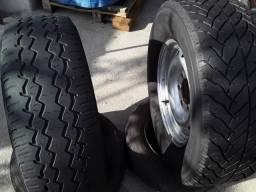 Dois pneus scorpion 16 245/70 goodya