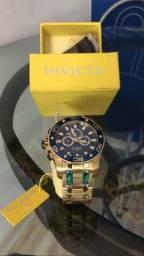 Relógio Invicta Pro Diver Cronógrafo Azul Dial Men-26078