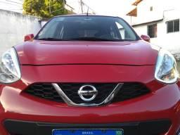 Nissan MARCH sv 1.0 top de linha 2015/2016 - 2016