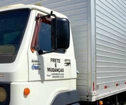 Fretes e mudanças caminhão baú com plataforma elevatória à partir de 80 reais