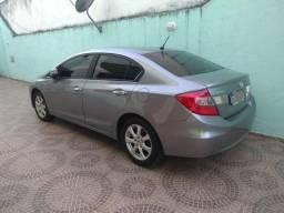 Honda Civic 13 EXS aut. GNV 5g BAIXEI (leia o anuncio!!!) - 2013