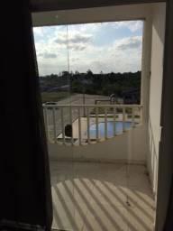 Apartamento com 2 dormitório para alugar, 62 m² por r$ 650/mês - estância biquine - teixei