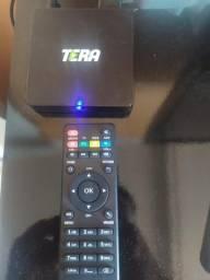 Tv box tera (usado poucas vezes)