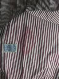 Camisa Manga Longa Náutica Burberry London Ralph Lauren Tamanho Especial Plus Size EGG