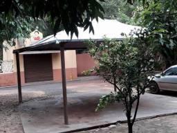 Rancho na Barranca do Rio Pardo