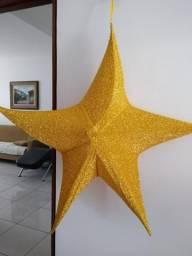 Estrela de Decoração 3 Unidades
