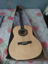 Troco um violão Memphis novo em um celular