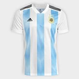 Camisa Original Adidas Argentina 2018 Copa Rússia 2bbcbbfc89444
