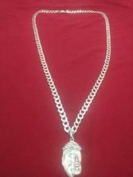 Vendo prata 925 + pingente _ 70 centímetros