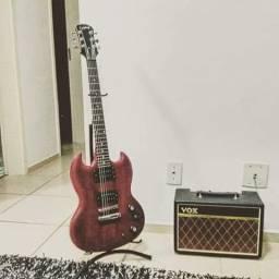 Guitarra Epiphone SG Special + Amplificador Vox Pathfinder 10w
