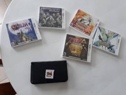 Nintendo 3ds XL+ jogos - aceito propostas