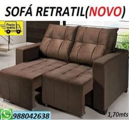 Solicite e Receba No Mesmo Dia!!Sofa Retratil Novo Super Barato Apenas 949,00