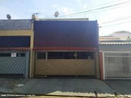 Casa para Locação em Presidente Prudente, Jd.Paulista, 2 dormitórios, 1 banheiro, 1 vaga