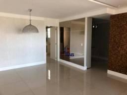Apartamento para locação, 130 m² por R$ 4.200/mês - Reserva do Bosque Condomínio Resort -