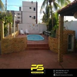 Casa temporada com 3 dormitórios para alugar por R$ 10.000 - Poço - Cabedelo/PB