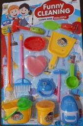 Mini kit limpeza infantil