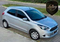 Ford Ka 2018 SE 1.0 Bancos em Couro de Único Dono