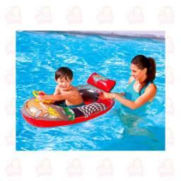 Bóia para piscina dos carros