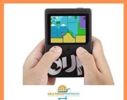 Mini Vídeo Game Portátil Retrô com 400 Jogos Inclusos e Controle Extra