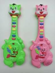 Guitarra Infantil Instrumentos Musicais Crianças E Bebês