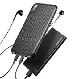 Capa Para iPhone X/xs Áudio Case Baseus
