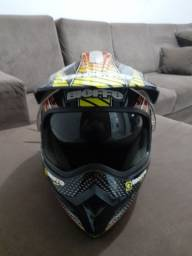 Capacete Bieffe modelo nomade fusion.