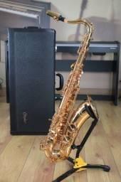 Sax Tenor Condor CST60G Gold - Produto Novo - Loja Física
