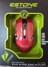 Mouse Gamer Wireless Estone 6 Botões E-1700 - Imperium Informatica