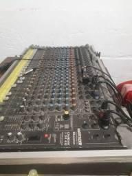 Mesa de som analógica Ciclotron 24 canais