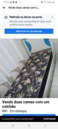 Vende se duas camas cada uma 350 reais
