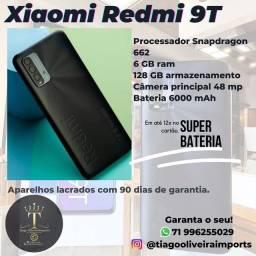 Título do anúncio: Redmi 9T 6 GB ram , 128 GB armaz. Parcel até 12X cartão de crédito!