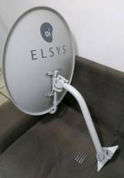 Antena mini parabólica + lnbf
