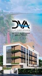 Título do anúncio: Flat com 1 dormitório à venda, 19 m² por R$ 175.000 - Cabo Branco - João Pessoa/PB