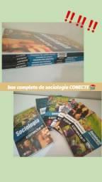 Box completo de Sociologia CONECTE