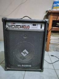 Caixa amplificada LL200 seminova *