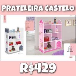 Prateleira castelo infantil