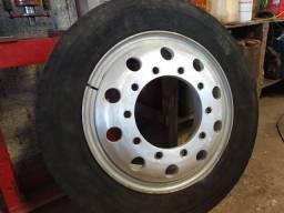 Rodas pra caminhão em alumínio