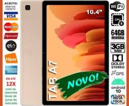 """Título do anúncio: Galaxy Tab A7 64GB Octa Core, Tela 10.4"""", Só Wi-Fi, GPS, Novo, Caixa, Lacrado, Nota, Gar"""