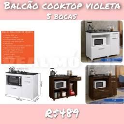 BALCÃO Cooktop Violeta xx110