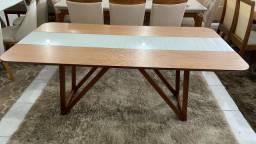 Título do anúncio: Mesa madeira maciça pronta entrega