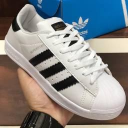 Título do anúncio: Tênis Adidas Superstar - $150,00 / @