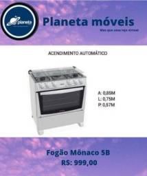 Título do anúncio: Fogão Mônaco 5b branco // BIJUTERIAS BIJUTERIAS BIJUTERIAS BIJUTERIAS