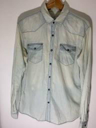 Título do anúncio: Camisa jeans masculina M