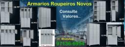 Título do anúncio: Roupeiro Novos Armários de Aço-04 06 08 12 16 20 24 32 Portas-Almoxerifado Estoque Oficina