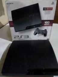 Vídeo Game Playstation 3. (2 Controles e 2 Jogos)