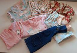 Lote de roupa de bebê