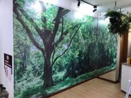 Papel de parede decorativo em vinil
